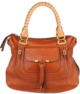 Chloé Medium Marcie Shopper Top Handle - Lyst