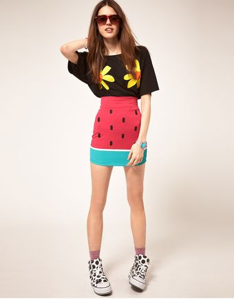 Lazy Oaf Watermelon Skirt - Lyst