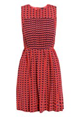 Marc By Marc Jacobs Heart-Print Dress - Lyst