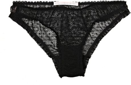 Stella Mccartney Alice Planting Briefs in Black - Lyst