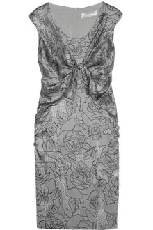Valentino Roma Printed Silk Dress - Lyst