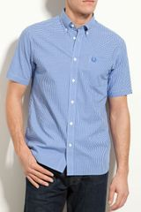 Fred Perry Gingham Check Shirt - Lyst