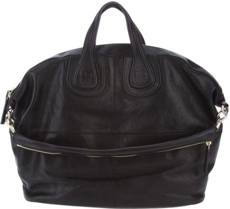 Givenchy Nightingale Tote in Black - Lyst