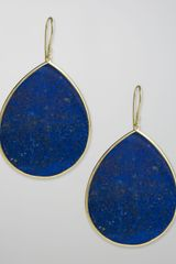 Ippolita Lapis Teardrop Earrings, Jumbo - Lyst