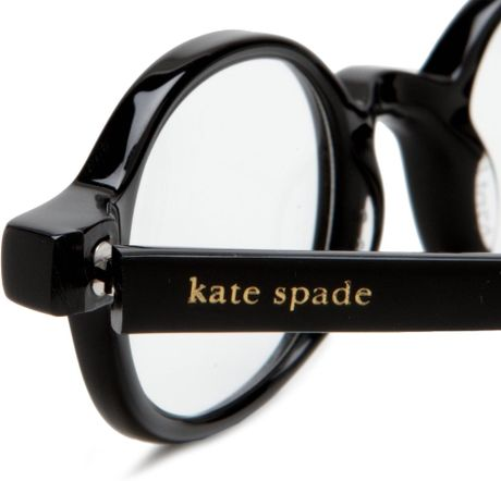 Kate Spade Petite Eyeglass Frames : Kate Spade Womens Foster Bl10 Round Reading Glasses in ...