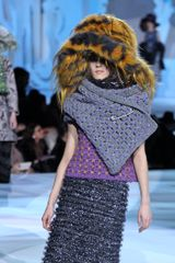 Marc Jacobs Fall 2012 Wool Stole In Gray - Lyst