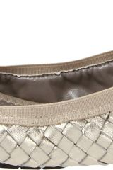 Me Too Womens Lottie Ballet Flat in Silver (platinum) - Lyst