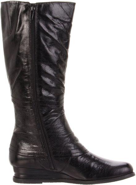 miz mooz womens blossom knee high boot in black lyst