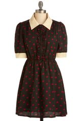 ModCloth Love Me True Dress - Lyst
