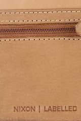 Nixon The Labelled Bifold Zip Wallet in Saddle in Brown for Men - Lyst