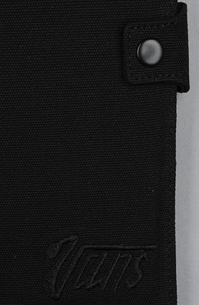 Vans The Victicious Chain Wallet In Black In Black For Men