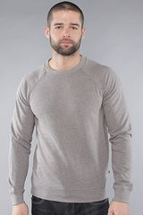 Cheap Monday The Noel Crewneck Sweatshirt in Grey Melange - Lyst