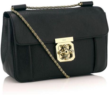 Chloe Elsie Shoulder Bag Black 61