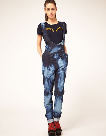 Danielle Scutt Overalls In Cloud Wash Denim - Lyst