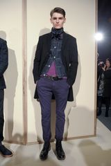 J.Crew Fall 2012 Full Length Chinos In Dark Blue - Lyst