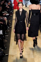 Michael Kors Fall 2012 Formal Waistcoat Jacket in Black  in Black - Lyst