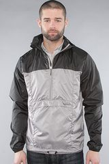 Nixon The Trekker Jacket in Black & Grey - Lyst