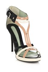 Sportmax Noel Tri-colour Shoes - Lyst