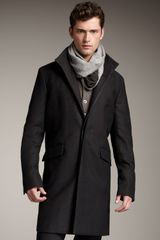 Theory Wool Car Coat - Lyst