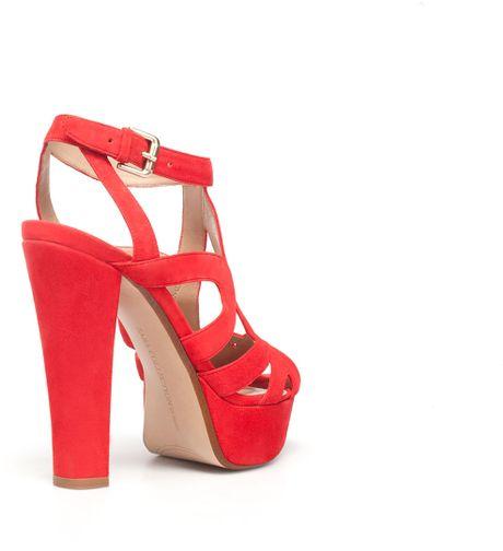 056f245e04d High Heel Shoes  Zara Red High Heel Shoes