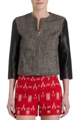 10 Crosby by Derek Lam Combo Jacket - Lyst