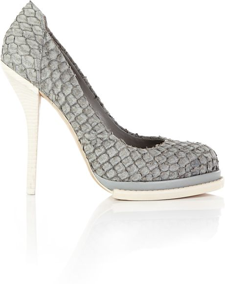 Alexander Wang Aida in Gray (grey) - Lyst