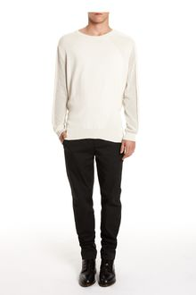 Alexander Wang Mixed Stitch Crewneck Top - Lyst