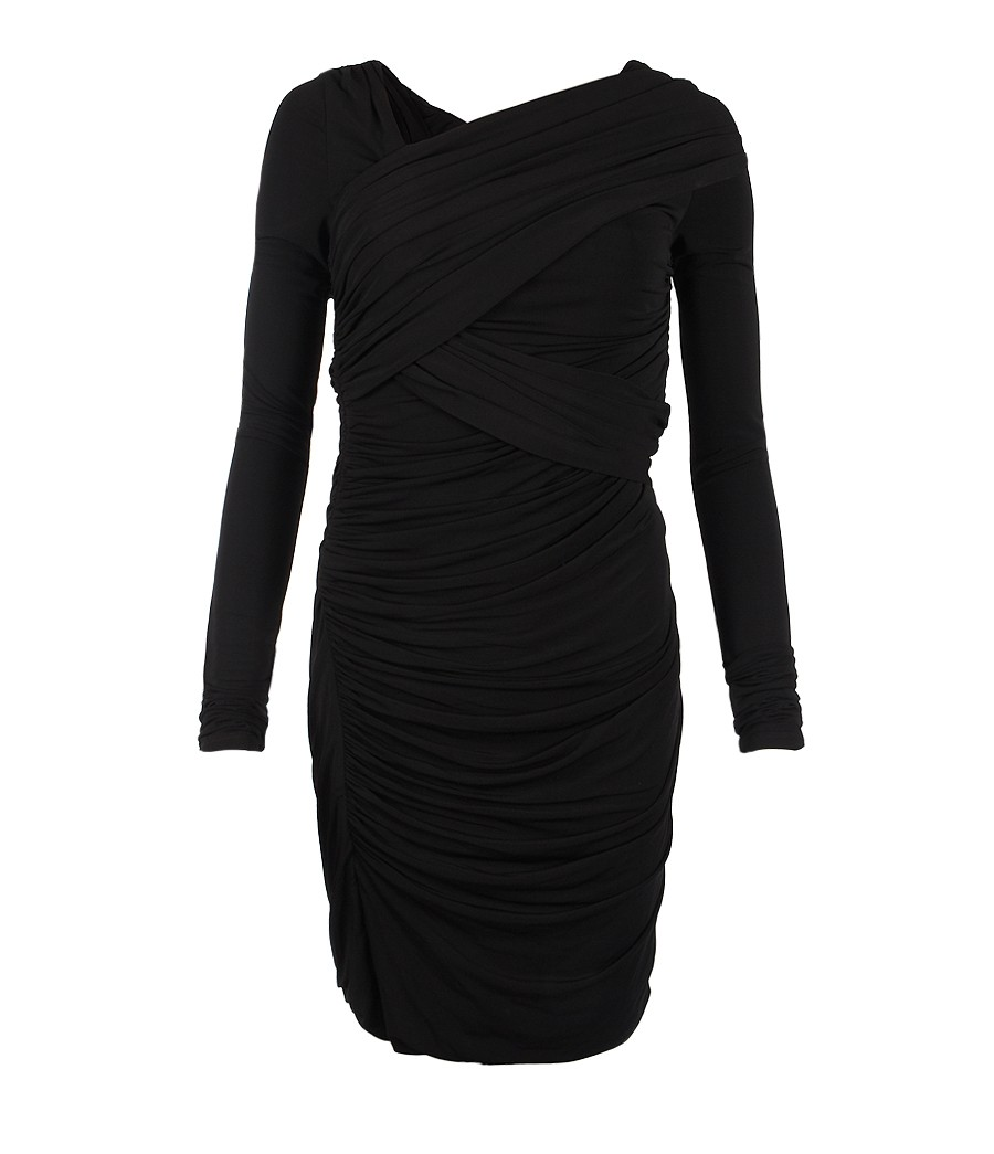 DRESSES - 3/4 length dresses Allsaints Outlet Locations Cheap Price Quality Outlet Store Free Shipping New Sale Manchester Outlet Amazing Price tgI4oglnyL