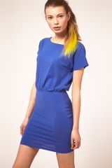 ASOS Collection Asos T-shirt Dress with Tight Skirt - Lyst
