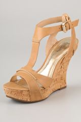 Belle By Sigerson Morrison Celsa Wedge Sandals - Lyst