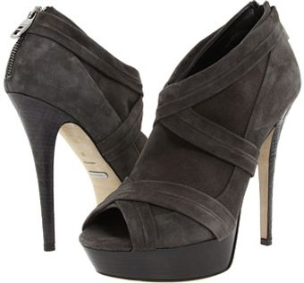 Burberry Suede Platform Shoes - Lyst