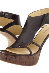 Costume National Sandal Heels - Lyst