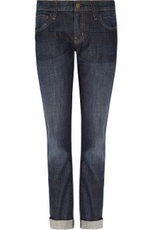 Current/Elliott The Roller Mid-rise Boyfriend-fit Jeans - Lyst