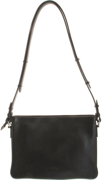 Delvaux Allure Small Messenger Bag in Black (noir) - Lyst