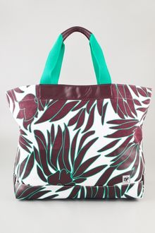 Diane Von Furstenberg Vintage Collection Large Beach Tote - Lyst