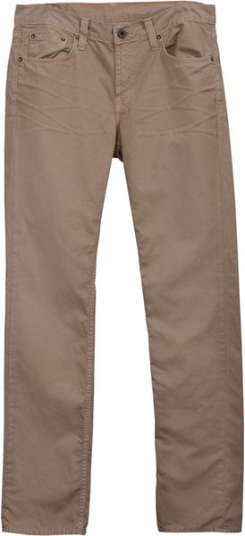 J Brand J Brand Kane Slim Straight Artisan Twill in Beige for Men - Lyst