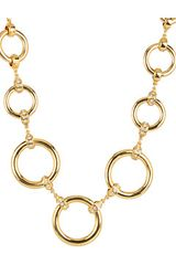 Kate Spade Spot On Gold Graduated Necklace - Lyst