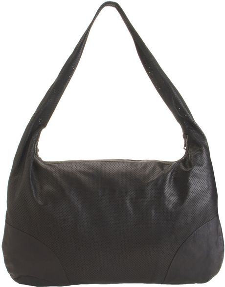 L'agence Top Zip Hobo in Black - Lyst
