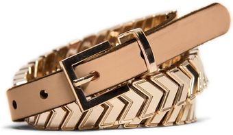 Mango Leather Belt - Lyst