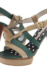 Marc By Marc Jacobs Strappy Sandals With Heels - Lyst