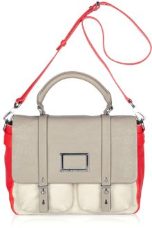 Marc By Marc Jacobs Werdie Color-block Leather Satchel - Lyst