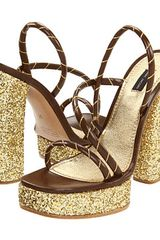 Marc Jacobs Strappy Platform Sandals - Lyst