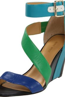 Nine West Pitera Wedge Sandal - Lyst