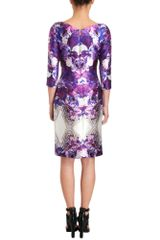Prabal Gurung Floral Swirl Dress in Floral - Lyst