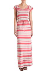 Splendid Striped Maxi Dress - Lyst