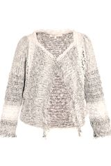 Vanessa Bruno Cotton-blend Weave Jacket - Lyst
