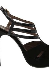 Versace Platform Sandals in Black (b) - Lyst
