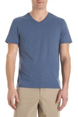 Vince Basic V-neck Tee - Lyst