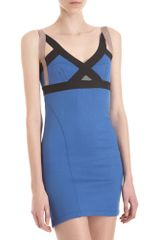 VPL Insertion Sleeveless Dress - Lyst
