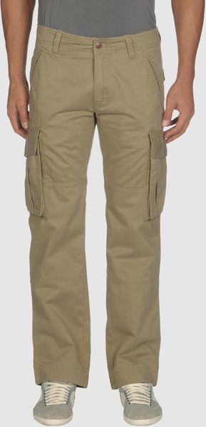 Diesel Casual Pants in Green for Men (khaki) - Lyst